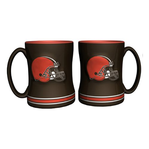 Boelter Brands Cleveland Browns 14 oz. Relief Mugs 2-Pack