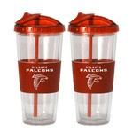 Boelter Brands Atlanta Falcons 22 oz. No-Spill Straw Tumblers 2-Pack - view number 1
