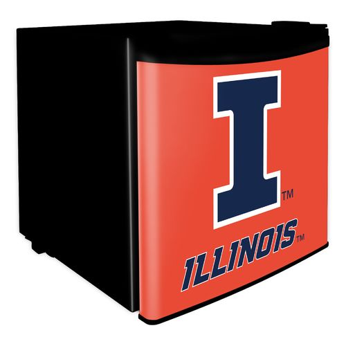 Boelter Brands University of Illinois 1.7 cu. ft. Dorm Room Refrigerator