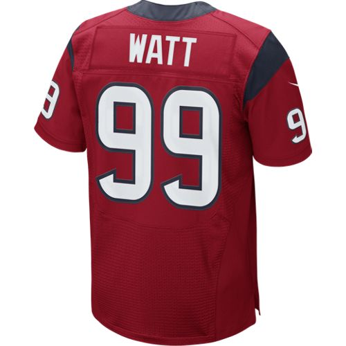 Nike Men's Houston Texans J.J. Watt 99 Elite Alternate Authentic Jersey