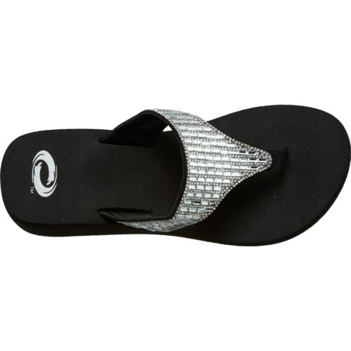 O'Rageous Women's Bling Flip-Flops - view number 4