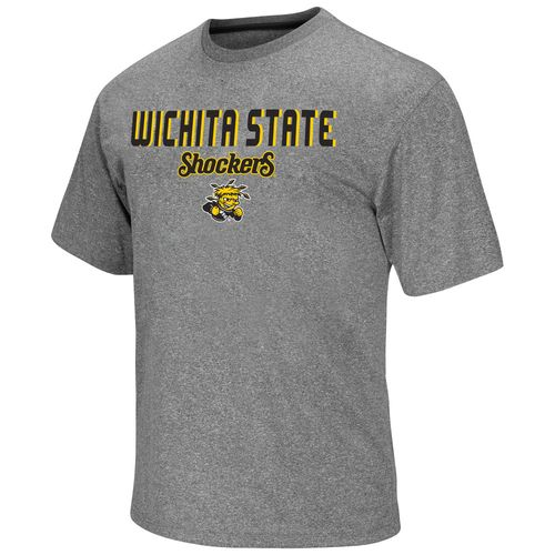 Colosseum Athletics Men's Wichita State University Arena Short Sleeve T-shirt