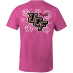 Image One Women's University of Central Florida Fireworks Comfort Color T-shirt
