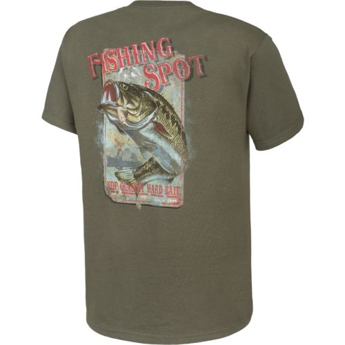 Magellan Outdoors™ Men's Fishing Spot Short Sleeve T-shirt