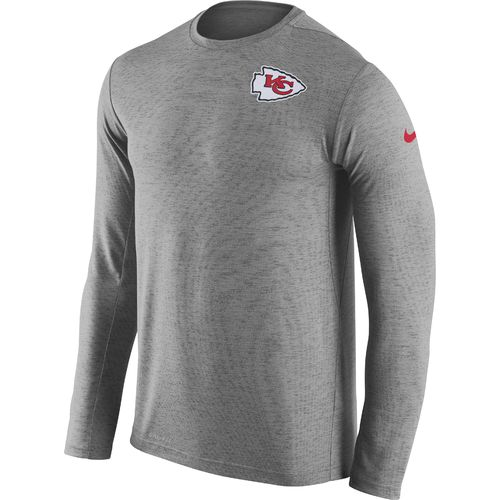 Nike Men's Kansas City Chiefs Dri-FIT Touch Long Sleeve T-shirt - view number 1
