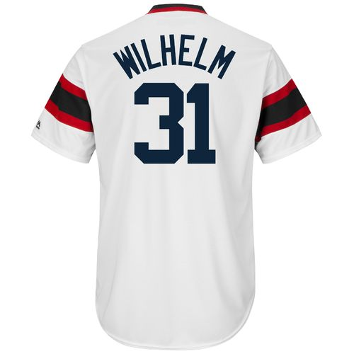 Majestic Men's Chicago White Sox Hoyt Wilhelm #31 Cooperstown Cool Base 1981-85 Replica Jersey