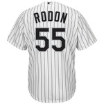 Majestic Men's Chicago White Sox Carlos Rodon #55 Cool Base Replica Jersey - view number 1