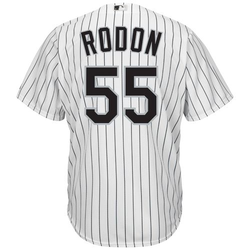 Majestic Men's Chicago White Sox Carlos Rodon #55 Cool Base Replica Jersey