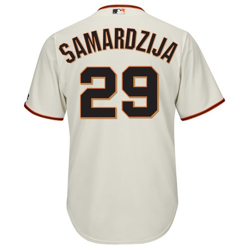 Majestic Men's San Francisco Giants Jeff Samardzija #29 Cool Base Replica Jersey - view number 1