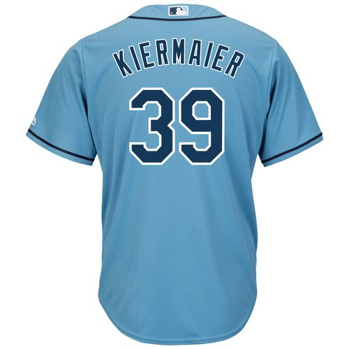 Majestic Men's Tampa Bay Rays Kevin Kiermaier #39 St. Patty's Authentic Flexbase™ On-Fi