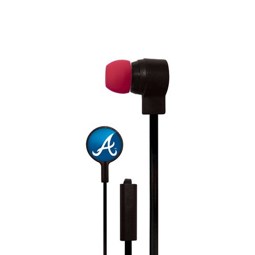Mizco Atlanta Braves Big Logo Earbuds
