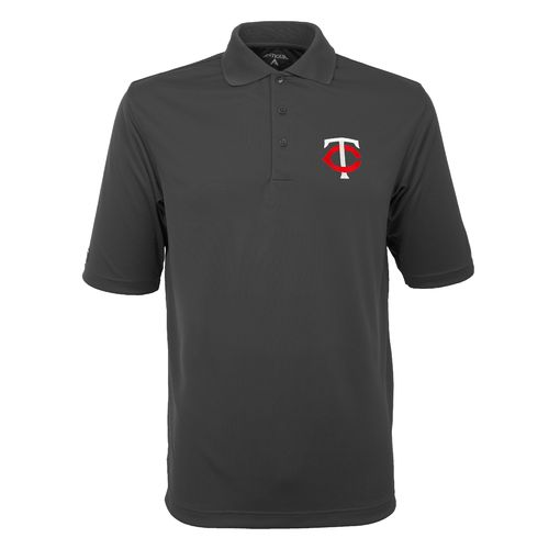 Antigua Men's Minnesota Twins Exceed Polo Shirt - view number 1