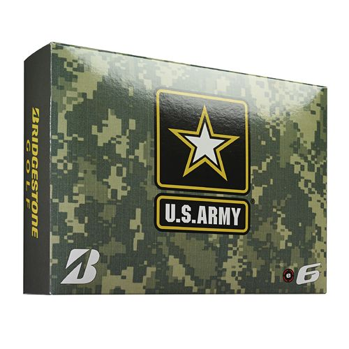Bridgestone Golf Army West Point e6 Golf Balls 12-Pack