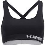 Under Armour Women's Mid Crossback Sports Bra - view number 1