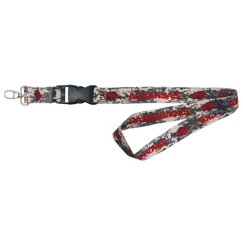 NCAA University of Arkansas Digicam Lanyard