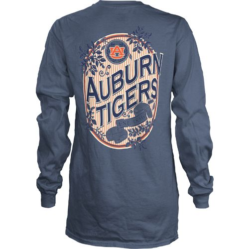 Three Squared Juniors' Auburn University Maya Long Sleeve T-shirt