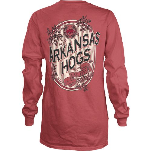 Three Squared Juniors' University of Arkansas Maya Long Sleeve T-shirt