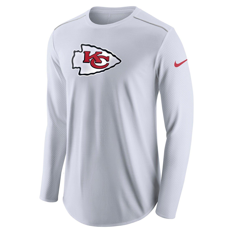 Nike Men's Kansas City Chiefs Long Sleeve Player
