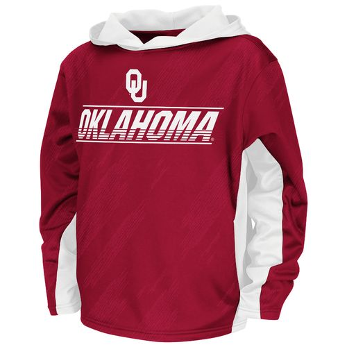 Colosseum Athletics™ Juniors' University of Oklahoma Sleet Pullover Hoodie