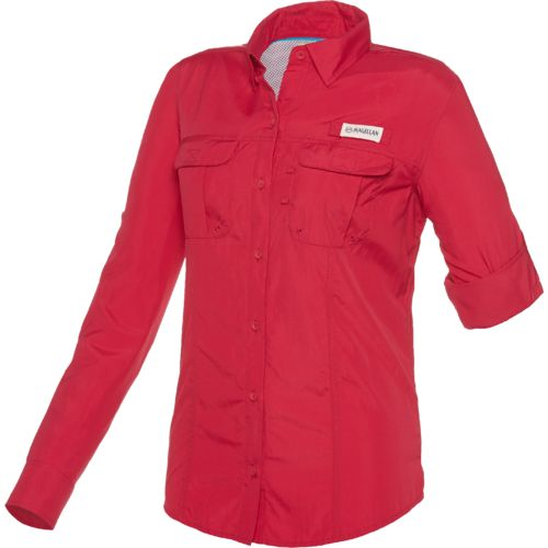 Magellan Outdoors Women's Fish Gear Laguna Madre Long Sleeve Fishing Shirt