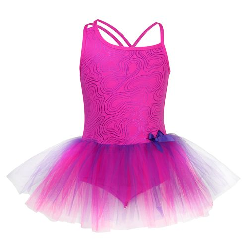 Capezio® Girls' Future Star Fantasy Contrast Foil Gown