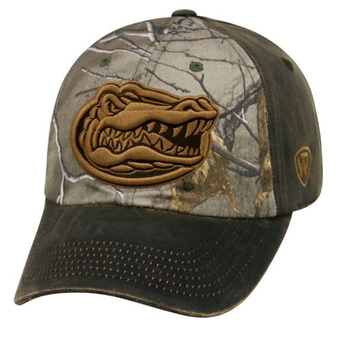 Top of the World Men's University of Florida Driftwood Cap
