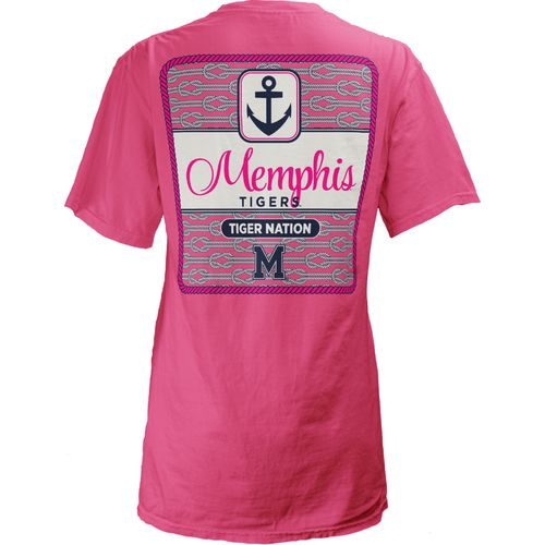 Three Squared Juniors' University of Memphis Knotty Tide T-shirt