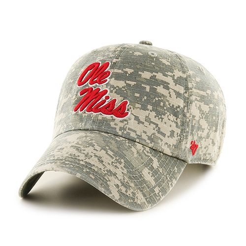'47 University of Mississippi Officer Camo Clean-Up Cap