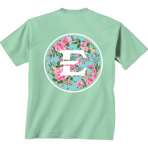 New World Graphics Women's East Tennessee State University Floral T-shirt