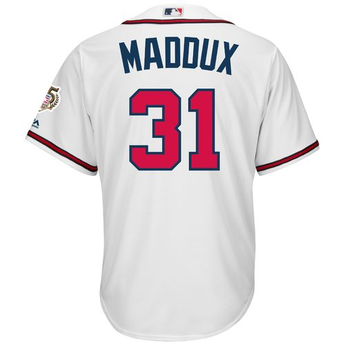 Majestic Men's Atlanta Braves Greg Maddux #31 Cool Base Replica Jersey