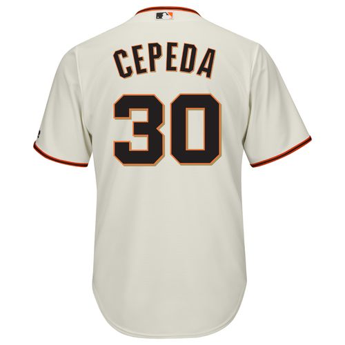 Majestic Men's San Francisco Giants Orlando Cepeda #30 Cool Base Replica Jersey