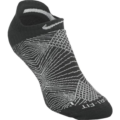 Nike Women's Dri-FIT Graphic No-Show Tab Socks  3-Pair