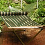 Algoma Quilted Fabric Hammock - view number 1