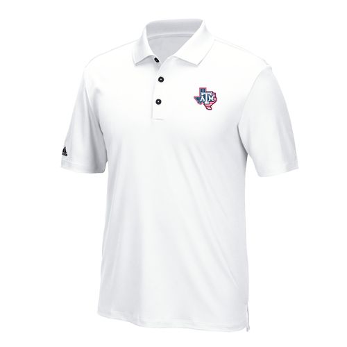 adidas™ Men's Texas A&M University Golf Polo