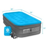 Air Comfort Camp Mate Raised Twin-Size Air Mattress with Battery-Powered Pump - view number 10