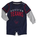 NFL Infants' Houston Texans Foundation Jersey Romper