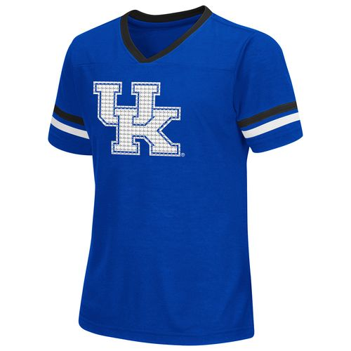 Colosseum Athletics™ Girls' University of Kentucky Titanium T-shirt