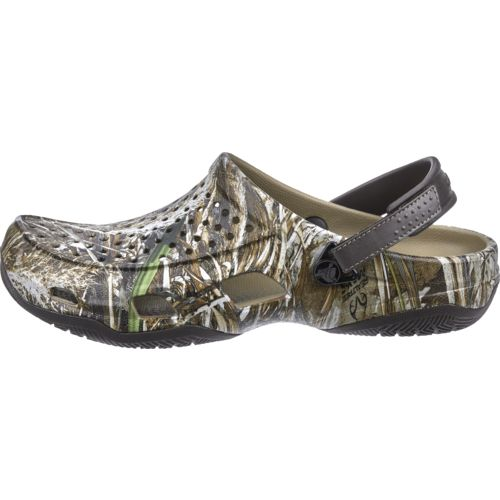 Crocs™ Men's Swiftwater Realtree Max-5® Deck Clogs