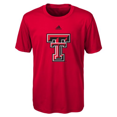 NCAA Boys' Texas Tech University Logo Performance T-shirt