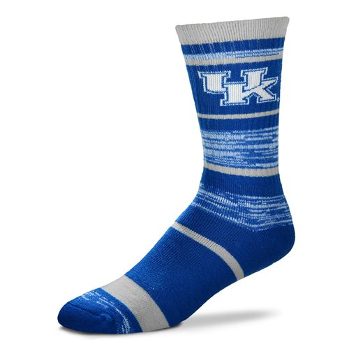 FBF Originals Men's University of Kentucky Stripe Athletic Crew Socks
