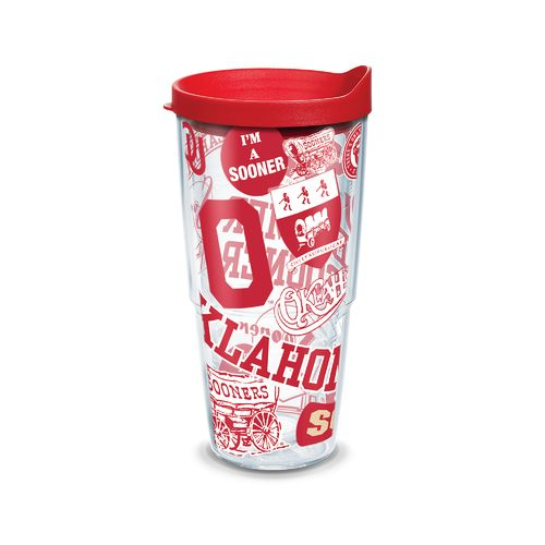 Tervis University of Oklahoma Allover 24 oz. Tumbler