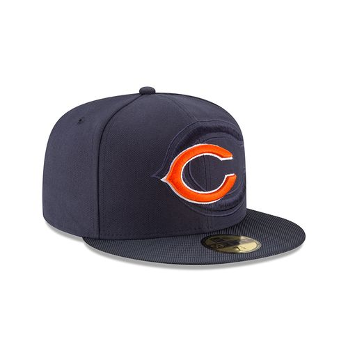 New Era Men's Chicago Bears NFL16 59FIFTY Cap - view number 3