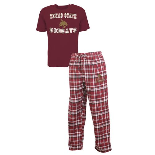 Concepts Sport™ Men's Texas State University Tiebreaker Shirt and Pant Set