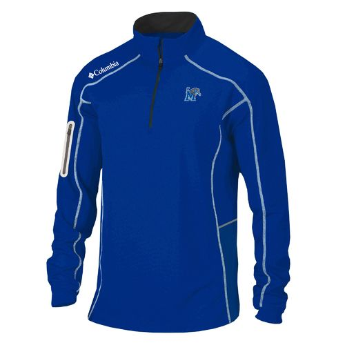Columbia Sportswear™ Men's University of Memphis Shotgun 1/4 Zip Pullover