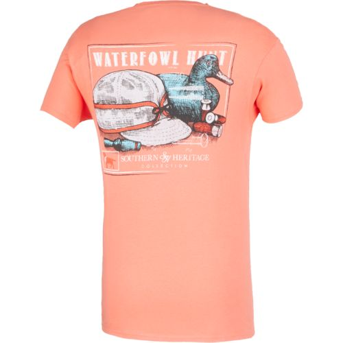 Southern Heritage Men's Waterfowl Hunt Pocket T-shirt