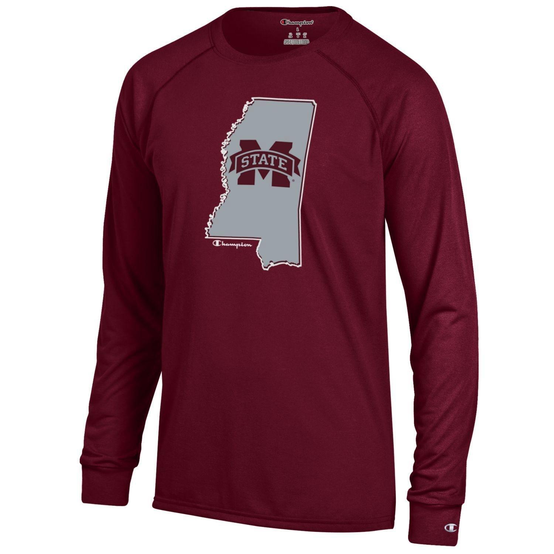 Champion™ Men's Mississippi State University Long Sleeve T-shirt