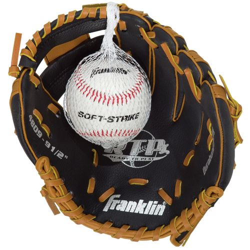 "Franklin Youth RTP® Performance Series 9.5"" T-ball Glove with Ball"