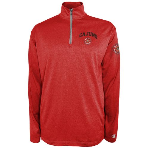 Champion™ Men's University of Louisiana at Lafayette Victory 1/4 Zip Pullover