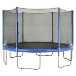 Upper Bounce® Replacement Trampoline Enclosure Net for 12' Round Frames with 6 Straight Pol - view number 4