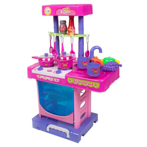 World Tech Toys Glamour Girlz My Kitchen Playset with Light and Sound